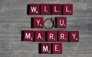 3x  Originele huwelijksaanzoeken