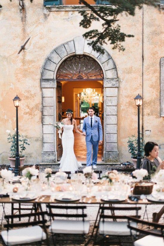 Trouwen in het buitenland romantische setting