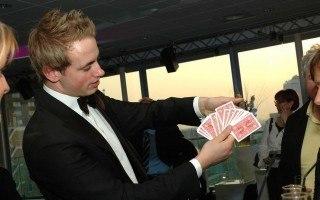 Goochelaar als bruiloft entertainment