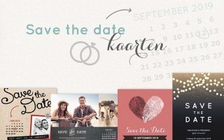 Save the date trouwkaarten