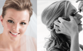 Een klassieke bruidslook door Blushing Brides by JV
