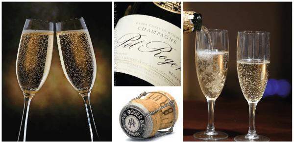 Champagne trouwen van Pol Roger