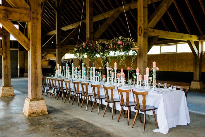 trouwbeurs jullie feestje tafelen