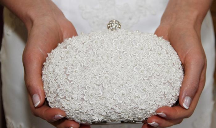 Handtassen voor een bruid