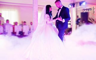bruidspaar dans