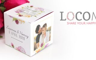 Unique and personalisable: LocoMix UK wedding favours