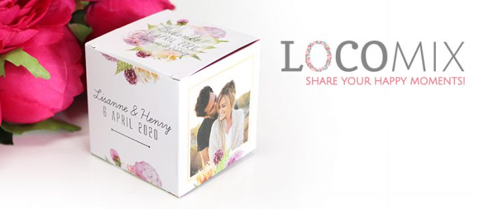 LocoMix UK wedding favours
