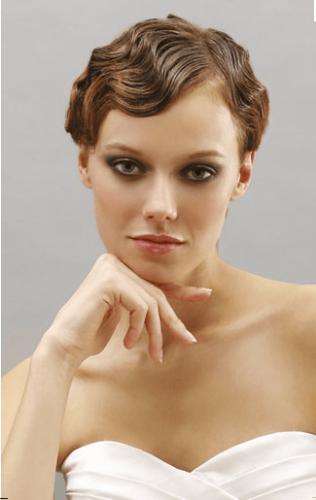 Beautiful Morning Bruidskapsels Kort Haar