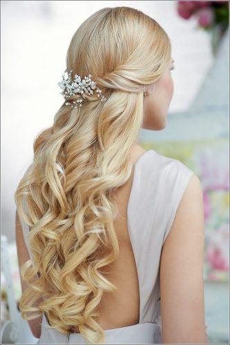 Beautiful Morning Bruidskapsels Lang Haar